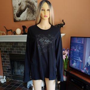 Flore Boutique Cafe Long Sleeve T-Shirt